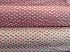 Beautiful Coordinating Cotton Poplin Hearts Fabric  Choose from 2 different colourways: - Rose/Dusky Pink Hearts with Cream background - Cream Hearts with Rose/Dusky Pink background  Or why not buy a length of each!  -100% Cotton Poplin - 112 cm (44 inch) width  - Available in different lengths:   Half Metre - 112 cm x 50 cm ( 44 x 20 inches)  Metre - 112 cm x 100 cm (44 x 39.5 inches)   Uses: This quality cotton poplin fabric is perfectly suitable for a range of purposes, dressmaki...
