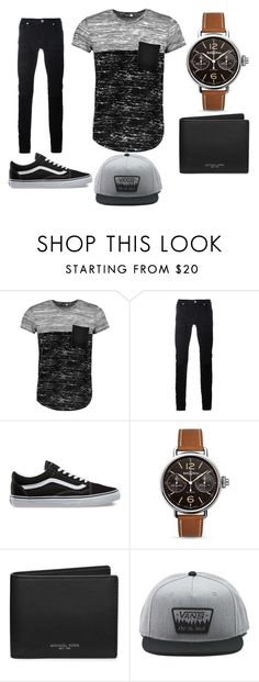 """""""Guys Outfit"""" by dylanjacobclements ❤ liked on Polyvore featuring Boohoo, Diesel Black Gold, Vans, Bell & Ross, Michael Kors, men's fashion and menswear"""