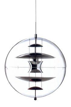 Panton Globe Pendant Lamp - Clear by Mid-Century Furniture Classics on @HauteLook $379