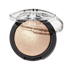 f Cosmetics Baked Highlighter Glow creates an all-day radiant glow with shimmering color. Apply wet for a vibrant effect, dry for sheer effect. Vegan and Cruelty Free. Highlighters For Pale Skin, Drugstore Highlighter, Baked Highlighter, Best Cheap Highlighter, Bronzer, Popsugar, Best Elf Products, Best Sephora Products, Beauty Products
