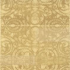 Gorgeous Gold Geometric Trance Wallpaper with a contemporary medallion print like no other! (R2729) | Walls Republic #gold #wallpaper #contemporary