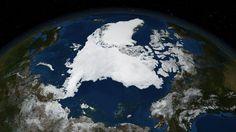 Арктический спутниковая карта