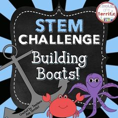 Can+you+design+a+boat+that+will+float+and+hold+weight?****Please+note:+This+lesson+is+available+in+a+combination+package!This+STEM+Challenge+is+our+new+favorite+in+my+STEM+Lab!+Its+a+great+task+with+some+excellent+opportunities+to+re-design,+re-think,+and+re-build!STEM+activities+provide+wonderful+opportunities+for+hands-on+collaborative+work.