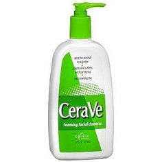 CeraVe Cleanser***Size: Foaming Facial.CeraVe?s applied science technology has contributed to developing a product that balances and replenishes the skin in one easy step,Helps restore and maintain the skin's natural protective function,The ceramide-rich formula provides essential ingredients to maintain a healthy skin barrier,Non-Comedogenic, non-irritating, developed with dermatologists,Dermatologists recommend CeraVe foaming facial cleanser as