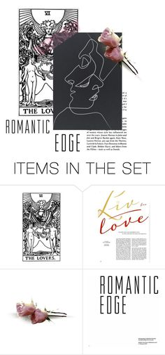 """""""Romantic Edge"""" by lizzie-spence ❤ liked on Polyvore featuring art"""