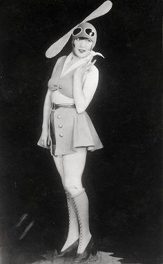 A carnival costume, Berlin, 1928