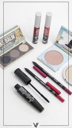 Los productos perfectos para un maquillaje completo. #TheBalm #Favoritos #CrueltyFree