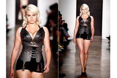 Plus Size Models on the Runway-Chromat Model Denise Bidot and Zana Bayne on Model Diversity