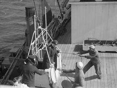 SCENES ABOARD THE HOSPITAL SHIP, HMHS AMARAPOORA. SCAPA FLOW, 11 SEPTEMBER 1942.