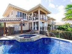 Panoramic Ocean Views: Private Pool/AC Walk to beaches Vacation Rental in Poipu from Hawaii Vacation Rentals, Dream Vacations, Vacation Spots, Vacation Destinations, Vacation Ideas, Swimming Pool Heaters, Outdoor Swimming Pool, Swimming Pools, Poipu Beach