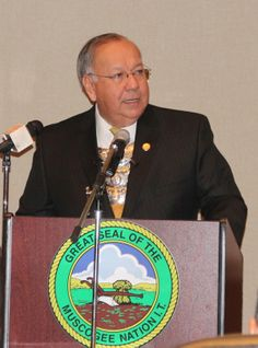Principal Chief George Tiger's MCN State of the Nation Address held Saturday January 25, 2014