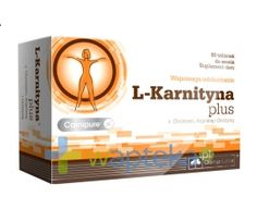 Olimp L-Karnityna Plus 80 tabletek do ssania