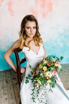 Hochzeitsinspiration: Floraler Pastellzauber KITTY FRIED PHOTOGRAPHY http://www.hochzeitswahn.de/inspirationsideen/hochzeitsinspiration-floraler-pastellzauber/ #wedding #inspo #pastell