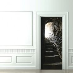 French Catacombs Stairs - Doors Trompe-l'Oeil