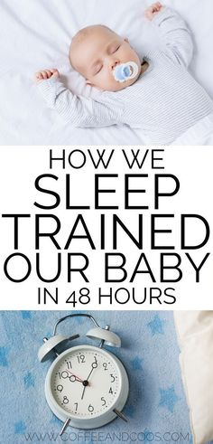 How we sleep trained our baby in 48 hours. Step by step instructions on how to teach your baby to sleep through the night. Tips and tricks for teaching your baby to self soothe and sleep through the night. care tips newborns products Getting Baby To Sleep, Help Baby Sleep, Get Baby, Kids Sleep, Baby Sleep Time, Sleep Lab, Baby Bedtime, Baby Boy, Child Sleep