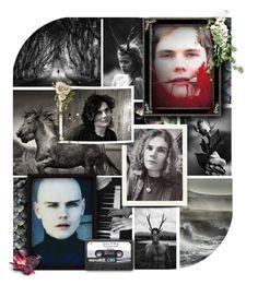 """Immortals Battle: Gender Swap"" by annette-heathen ❤ liked on Polyvore featuring art, modern, Ireland, smashingpumpkins and billycorgan"