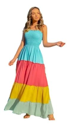 Stylish Dress Designs, Stylish Dresses, Cute Dresses, Beautiful Dresses, Summer Dresses, Girls Fashion Clothes, Fashion Dresses, Look Fashion, Girl Fashion