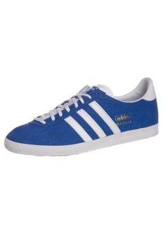 GAZELLE OG - Sneaker - air force blue/white/metallic gold