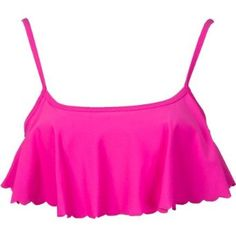 Roxy Juniors Sun Dancer Cropped Scalloped Bikini Top,