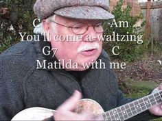 "WALTZING MATILDA for the UKULELE - UKULELE LESSON / TUTORIAL by ""UKULELE MIKE"" - YouTube"