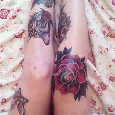 If by next year, my scar won't heal then ill go for the rose tattoo on my knee