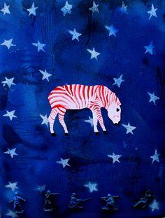 'Endangered Species: Zebra'  Mikey Kettinger, 2011