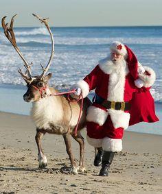 weihnachtsmann am strand - Bing images