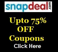 Looking for Latest Snapdeal Offers, Coupons and Deals - Check them Out Now at CouponzGuru! Happy Saving!