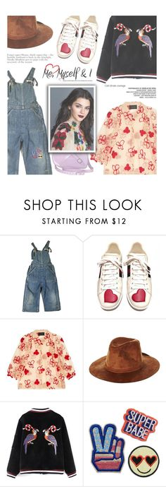 """""""Untitled #1753"""" by zayngirl1dlove ❤ liked on Polyvore featuring Gucci, Simone Rocha, Dr. Martens and Brixton"""