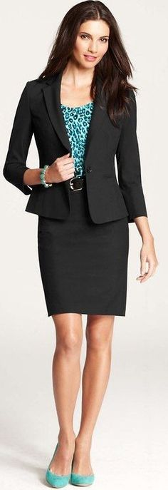 AnnTaylor skirt suits are great for fashion-forward men looking to introduce skirted dressing to their work wardrobe. The sales associate have always been very helpful to me.