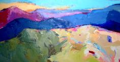 Klementovich Paintings A new Language in Painting Part of Femme Fatales of the North Oil Paintings, Landscape Paintings, Mount Washington, Different Emotions, Contemporary Landscape, Parking Lot, Mountain Range, Beautiful Paintings, Layers
