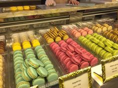 Laduree shop in Hong Kong