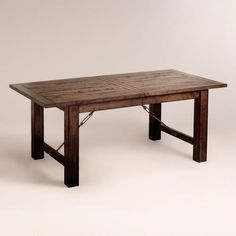 Garner Extension Dining Table - World Market Seats up to 8 | Great Home IdeasGreat Home Ideas