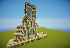 Futuristic building Minecraft Project