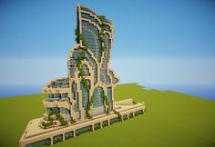 Futuristic building Minecraft Project