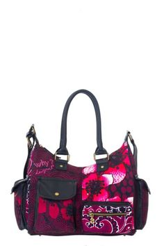 Desigual Sira London Medium Carry Bag