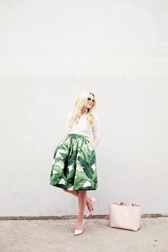 Palm Skirt - Atlantic-Pacific