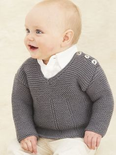 I know a sweet little boy who would look adorable in this..