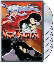 New InuYasha First Season 1 One (DVD, 2004, 5-Disc Set) Anime Free Shipping