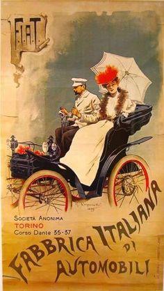 Old italian advertising