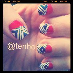 Tenho Tribal Nails