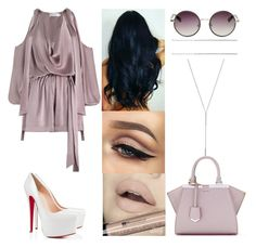 Untitled #1835 by allison-syko on Polyvore featuring polyvore fashion style Zimmermann Fendi BCBGeneration Nina Ricci The Row Christian Louboutin clothing