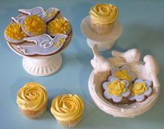 Cupcake: Cheirinho da Primavera!