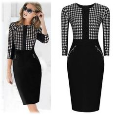 Our dresses are made with the customer\'s satisfaction and fit in mind.This dress is made from fine blend of cotton,lycra and polyester to give it that bodycon fit that flatters and accentuates every lady\'s curves. S Curves, Work Wear, Vintage Ladies, Bodycon Dress, Dresses For Work, Formal, Lady, Casual, Sleeves