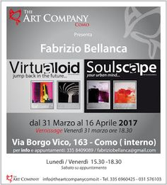 "Fabrizio Bellanca.com: Virtualoid / Soulscape - personale preso ""The Art ..."