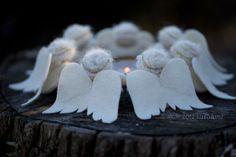 dancing angels DIY felt craft kit for special celebrations by zuzu