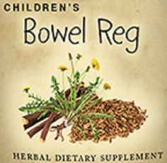 Childrens Bowel Reg Formula Liquid Herbal Tincture to Promote Healthy Bowel Function