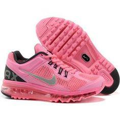 http://www.asneakers4u.com/ NIKE AIR MAX 2013 cheap running womens shoe pink Sale Price: $69.80