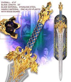 Warcraft King Llane Sword