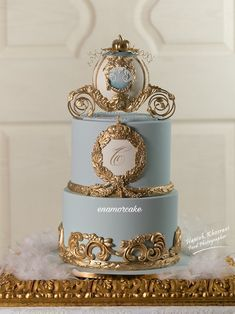 Cinderella Sweet 16, Cinderella Birthday, Cinderella Cakes, Cinderella Theme, Cinderella Quinceanera Themes, Quinceanera Cakes, Beautiful Birthday Cakes, Gorgeous Cakes, Torta Angel